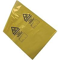 kaysmedical lrg355Biohazard eliminación de residuos bolsas, amarillo (Pack