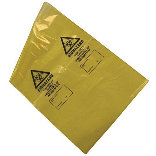 amarillo Pack de 50 kaysmedical lrg355/Biohazard eliminaci/ón de residuos bolsas