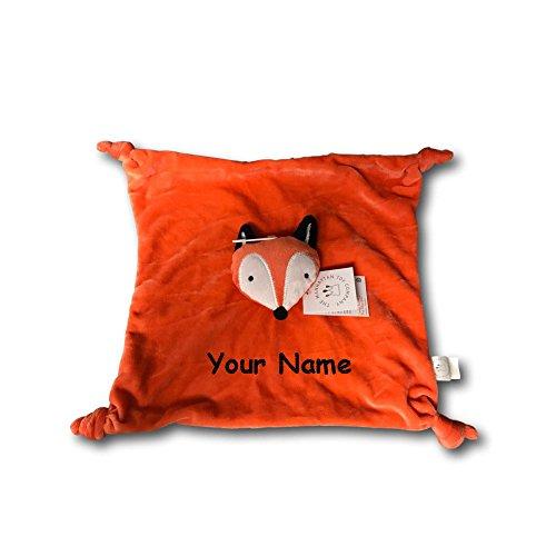 Personalized Manhattan Toy Camp Acorn Fox Snuggle Baby Blank