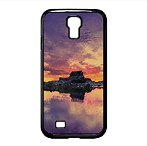 Lake Sunset Watercolor style Cover Samsung Galaxy S4 I9500 Case (Lakes Watercolor style Cover Samsung Galaxy S4 I9500 Case)