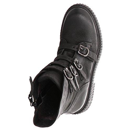 132209 Couleur Boots Modã¨le Bottines Boots Schwarz Noir Noir Marque Mjus xSfqBwWnx