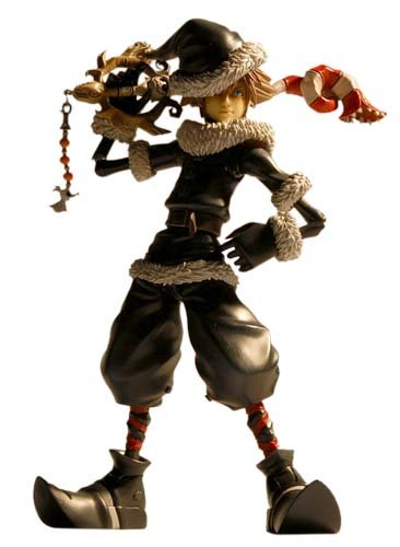 Amazon.com: Kingdom Hearts II Play Arts Vol.2: Sora (Christmas ...