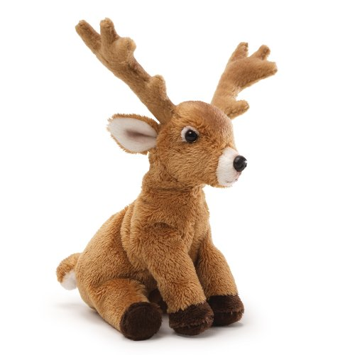 GUND Fun Christmas Deer Beanbag 6