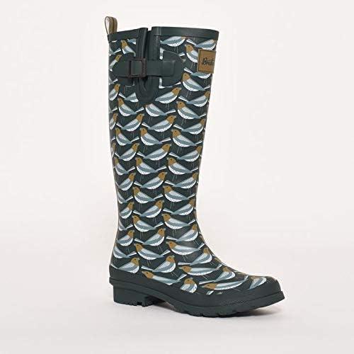Brakeburn Stivali da pioggia da donna con fibbia