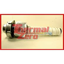 Thermal Zero Universal Turbo Blanket Kit with Black Downpipe Exhaust Wrap Fits anything from T3 to T6