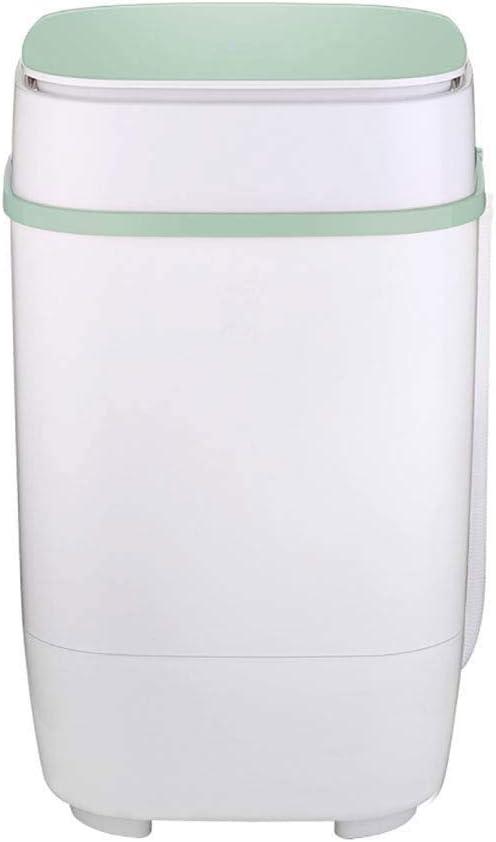 ZXvbyuff どこ-childベビーミニ洗濯機とスピン乾燥機、シングルタブコンパクトブルーレイ殺菌洗濯機を行くポータブルミニ衣服洗濯機
