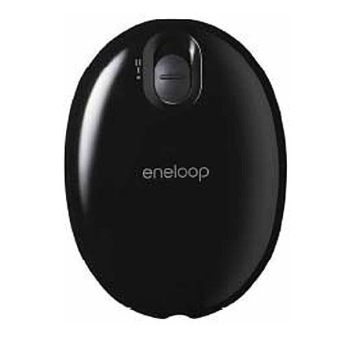 Sanyo Eneloop Kairo Rechargeable Portable Electric Hand Warmer black