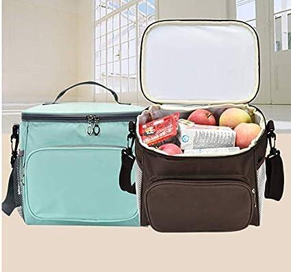 Alimentos LAAT Bolsa Termica Comida Porta Alimentos Bolsa de Almuerzo Gran Capacidad para Trabajo//Oficina//Escuela//Picnic