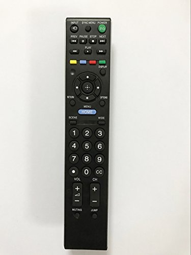 Price comparison product image Replacement TV Remote Control work for KDL-42EX440 RM-YD080 KDL-22EX350 KDL-46BX450 Sony Bravia LED HDTV TV