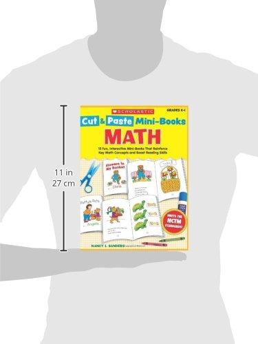 Amazon.com: Cut & Paste Mini-Books: Math: 15 Fun, Interactive Mini ...
