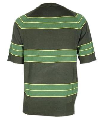 0c075172f Amazon.com: Unknown oem Kurt Cobain Sweater Green Striped Shirt Costume  Nirvana Smells Like Teen Spirit, Medium: Clothing