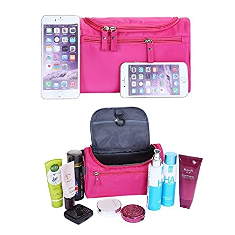 Amazon.com : Best Choise Product new women and men large waterproof makeup bag nylon travel cosmetic bag organizer case necessaries make up wash toiletry ...