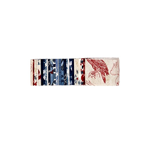 (Wilmington Prints 0559951 Wilmington Land of Liberty, Crystals-2 1/2in)
