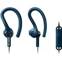 Philips Actionfit Shq1405 Mikrofonlu Spor Kulaklığı, Mavi