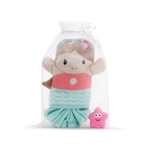 Demdaco Baby 3 Piece Bath Gift Set, Mermaid by Demdaco Baby