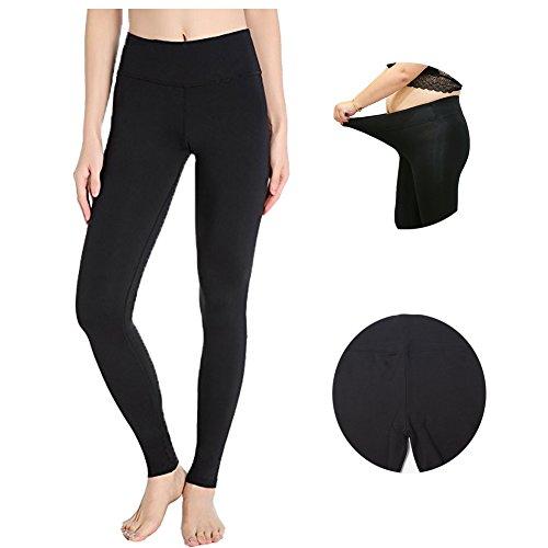 High Waisted Leggings Women Full Length Workout Pants Basic Ankle Tummy Control Plus Size - Shape Women Perfect
