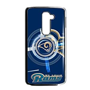 Circular rotating fashion design St. Louis Rams LG G2 Case Cover Shell (Laser Technology) by icecream design