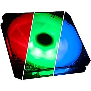 Amazon Com Bitfenix Bitfenix Spectre Pro Rgb Led Case Fan