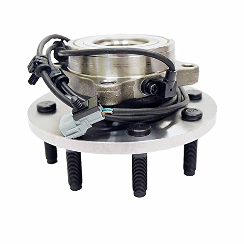 HU515063 x 1 Brand New Wheel Bearing Hub Assembly Front Left or Right Side ( 4WD 8 Lug ) Fit 00 - 02 Dodge Ram 2500 Pickup, 00 - 02 Ram 3500 (Pickup Front Assembly Hub)