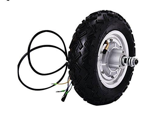 10インチ500W 36V電動スクーターモーター、電動ホイールハブモーター、ホイールモーター