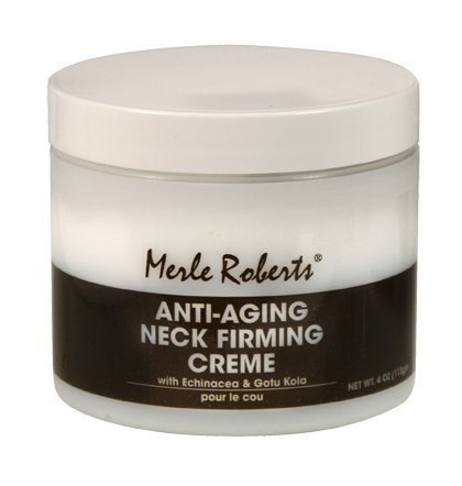 Merle Roberts Anti-Aging Neck Firming Crme. The Best Anti-Aging Firming Cream Specifically Developed To Care For The Neck And Dcollet. With Vitamin E and Gotu Kola 4oz.