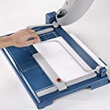 """Dahle 564 Premium Guillotine Trimmer w/Laser Guide, 14-1/8"""" Cut Length, 40 Sheet Capacity, Self-Sharpening, Automatic Clamp, w/Safety Guard"""