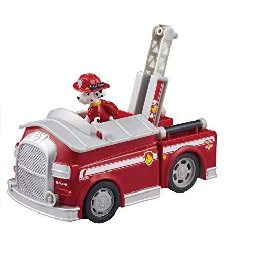 [해외]パウ경비 작업 차량 (피겨) 마샬 파이어 트럭 / Pau Patrol Action Vehicle (with Figure) Marshall Fire Truck