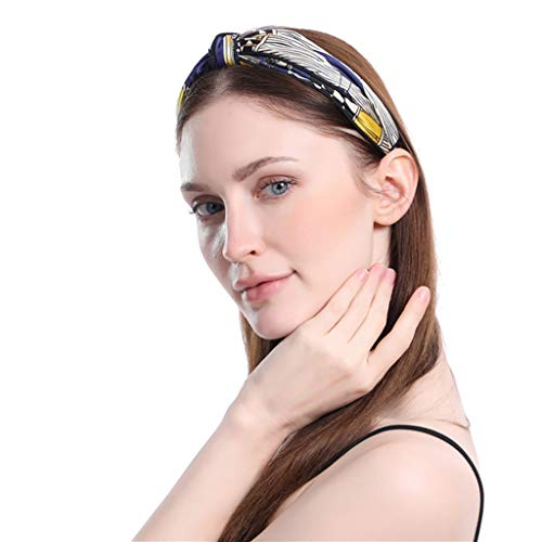 - hositor Headbands for Women, Women's Crystal Headband Fabric Hairband Head Wrap Hair Band Accessories