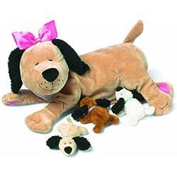 Manhattan Toy Nursing Nana Dog Nurturing Soft Stuffed Animal Toy