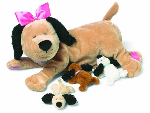 Manhattan Toy Nursing Nana Dog Nurturing Soft Stuffed Animal Toy -