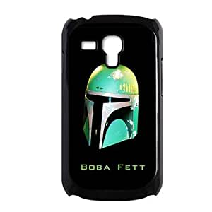 Generic Children Quality With Star Wars Boba Fett Green Helmet For Galaxy S3 Mini Plastics Shell