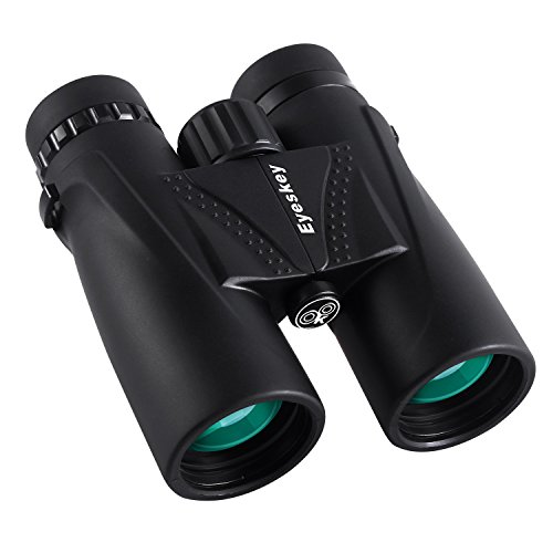Eyeskey Optics 8X42 Professional Waterproof Binoculars with HD Green Films Fully Multi-Coated