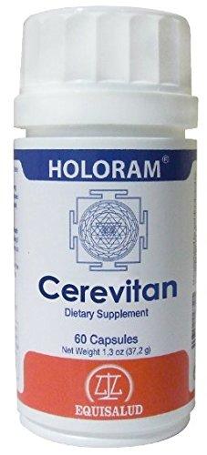 Holoram Cerevitan: Bio-Regulator Of The Response To The Neuro-Degenerative Processes 60 capsules of 580 mg.