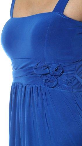 BlauROYAL Damen Kleid Fiondotinta Blau GP 163V dUwWXqW7C