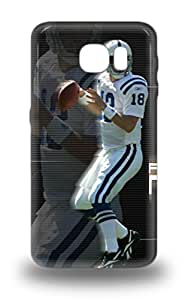 New Diy Design NFL Denver Broncos Peyton Manning #18 For Galaxy S6 3D PC Cases Comfortable For Lovers And Friends For Christmas Gifts ( Custom Picture iPhone 6, iPhone 6 PLUS, iPhone 5, iPhone 5S, iPhone 5C, iPhone 4, iPhone 4S,Galaxy S6,Galaxy S5,Galaxy S4,Galaxy S3,Note 3,iPad Mini-Mini 2,iPad Air )