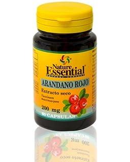 60 Cápsulas vegetales Cranberry Uri Cyst con concentrado de ...