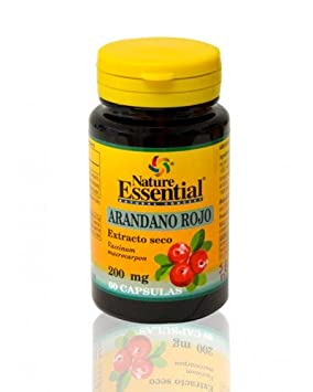 Arandano rojo 5000 mg. (ext. seco 200 mg.) 60 capsulas con vitamina C: Amazon.es: Salud y cuidado personal
