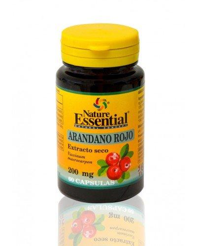 Arandano rojo 5000 mg. (ext. seco 200 mg.) 60 capsulas con