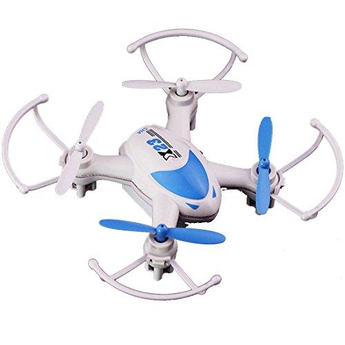 Tiean SY X23 Mini Quadcopter, RC 6Axis Gyro LED Light 4ch Headless Nano Drone (Blue) by Tiean
