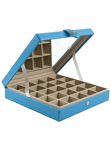 glenor-co-classic-25-small-compartment-organizer-with-large-mirror-blue