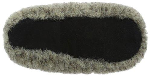 Unisex Adulto Casa Natural Zapatillas Woolsies por de Staten Estar Wool Gris Grey Mule xqxn4wzC