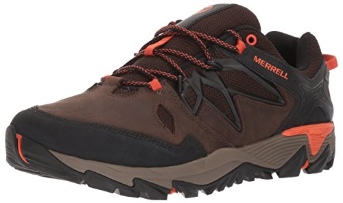 Merrell Men's All Out Blaze 2 Waterproof Hiking Shoe, Clay, 8.5 M US by Merrell