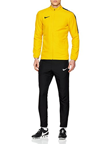 Nike Academy 18 Woven Tracksuit Men's (Tour Yellow/Black/Anthracite/Black, L)