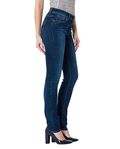 Cross Jeans Anya - Vaqueros para mujer Dark Used (006)