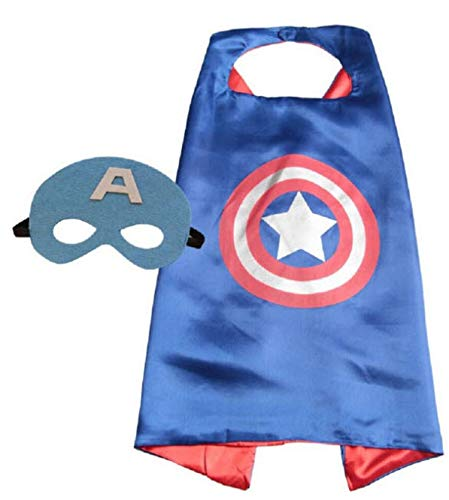 Super Hero Cape and Mask, Children, Boys, Girls