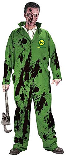 Funny Oil Spill Adult Costume (Size: Plus 48-52)