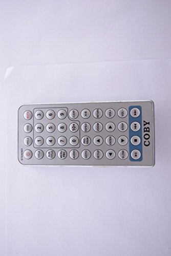 COBY CD/DVD PLAYER REMOTE CONTROL DVD211 20482
