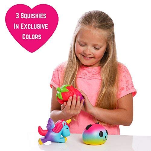 GirlZone Gifts for Girls: Set of 3 Slow Rising Squishies, Unique Colors, Stress Reducing, Scented Squishy, Birthday Present Gift for Girls Age 4 5 6 7 8 9+ by GirlZone (Image #6)
