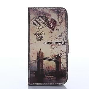 ZMY Carcasas de Cuerpo Completo - Diseño Especial - para iPhone 6 ( Multicolor . Cuero PU )
