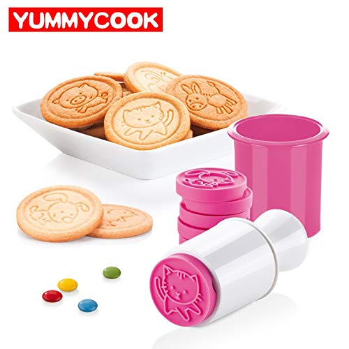 Christmas Sets Organ - 6pcs/set Cartoon Stamps Moulds Christmas Tree Cookie Tools Cake Decoration Bakeware Kitchen Gadgets Accessories Supplies Product